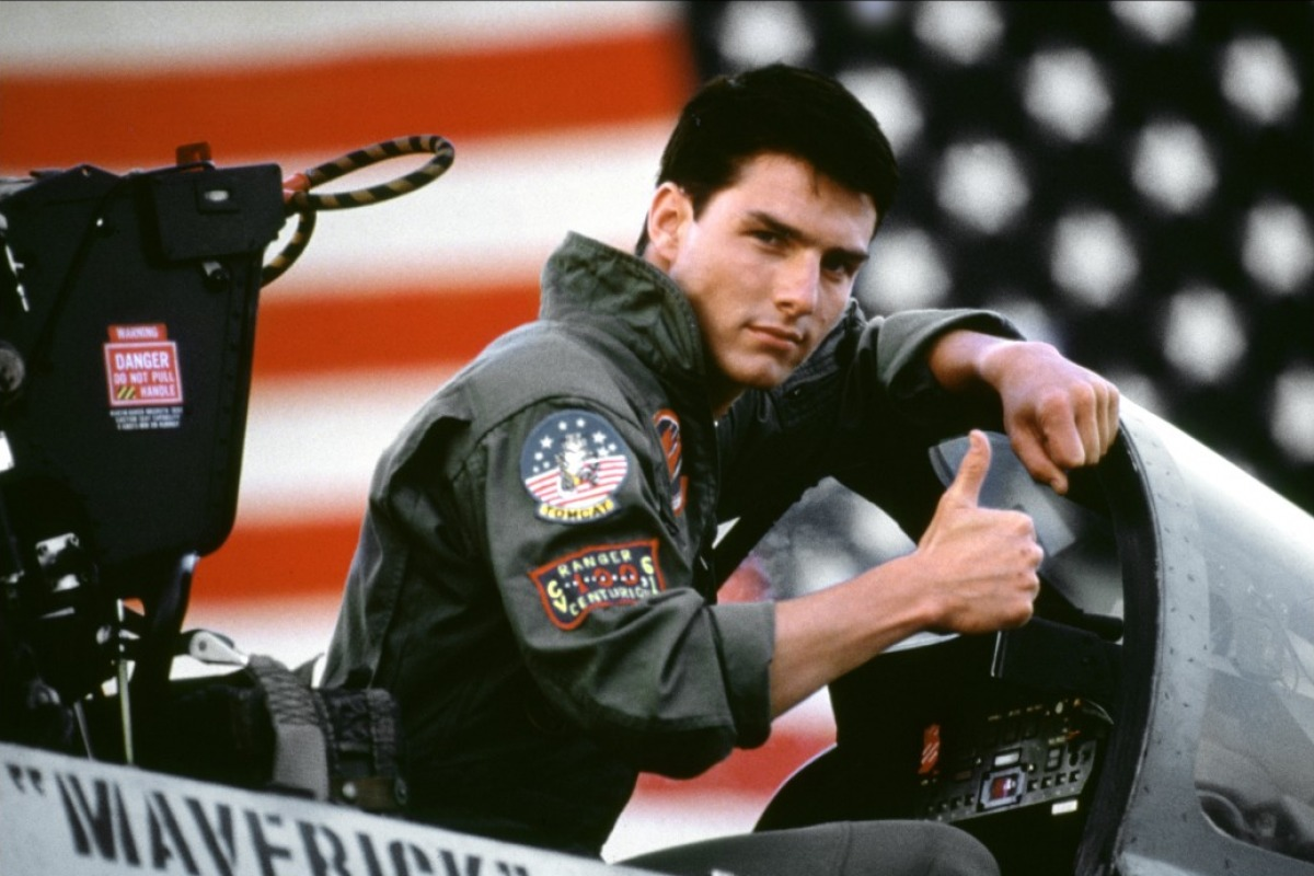from Huxley tom cruise gay top gun