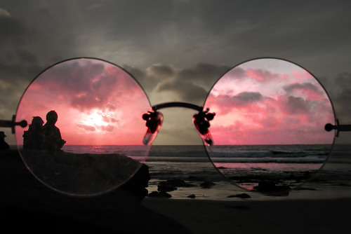 large-rose-colored-glasses-on-beach